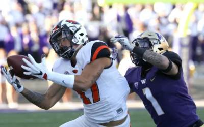 Isaiah Hodgins – Proving that Size Does Matter