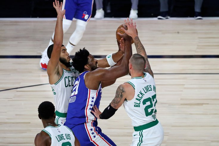 Sixers Fight but Go Down 3-0 to the Celtics