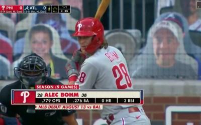 First MLB Bohm Bomb