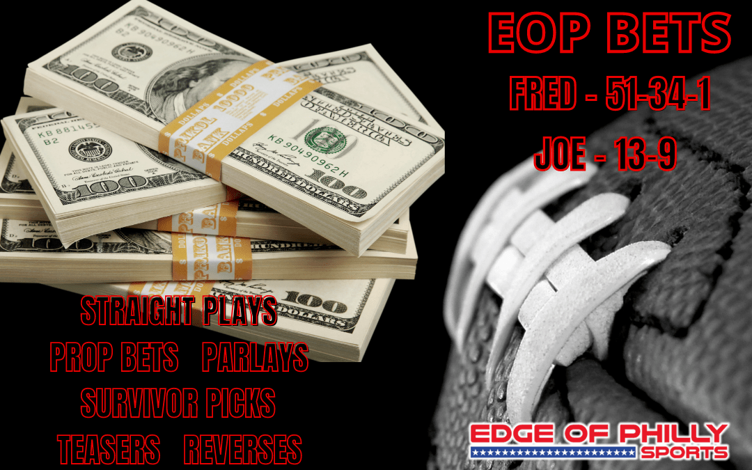 EOP BETS WEEK 12 NFL SUNDAY