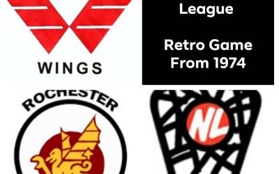 The Original National Lacrosse League (NLL) Retro Game (1974)