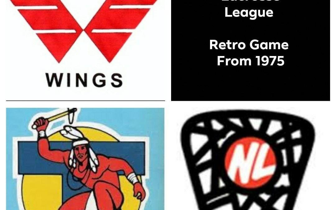 The Original National Lacrosse League (NLL) Retro Games