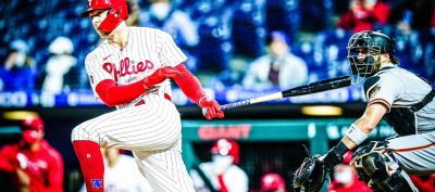 Phillies Lose on Historic Night