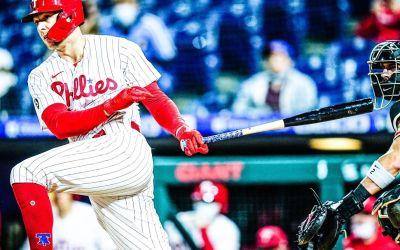 Phillies Lose on Historic Night