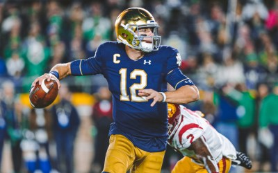 Ian Book, QB Notre Dame. Hear Me Out