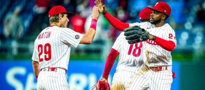 Phillies Score Early, Hold on for Win