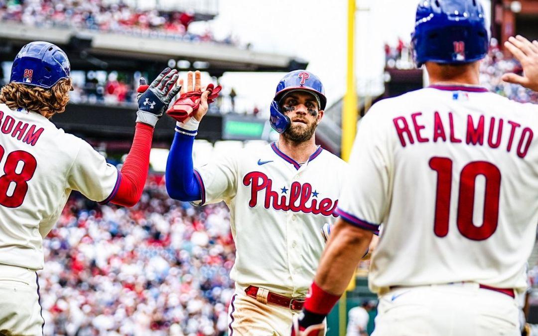 Phillies Sweep the Yankees