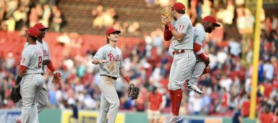 Phillies Blow Out BoSox