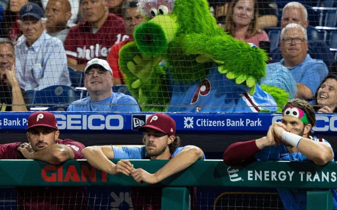 Lack of Hitting, Poor Defense Dooms Phillies