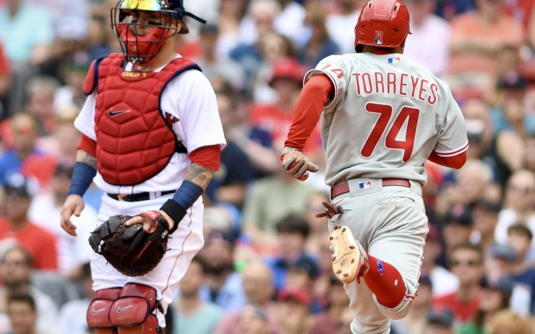 Surging Phillies Use Patchwork To Best Boston