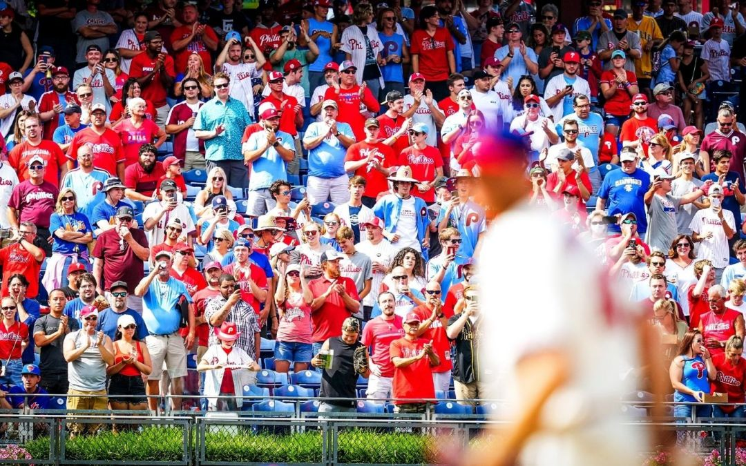 Phillies Make it 8 on an Emotional Day