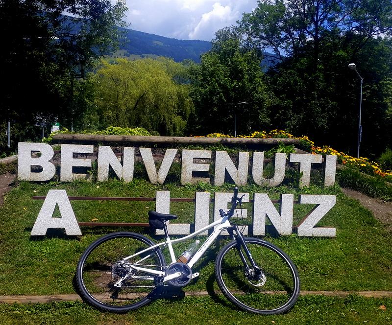 cartello di benvenuto a Lienz