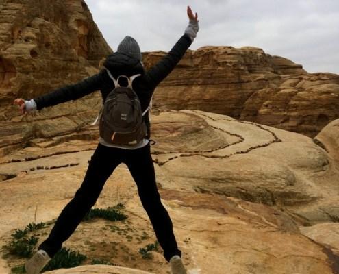 trekking a Petra