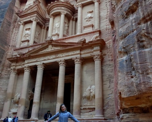 arrivo al Tesoro di Petra