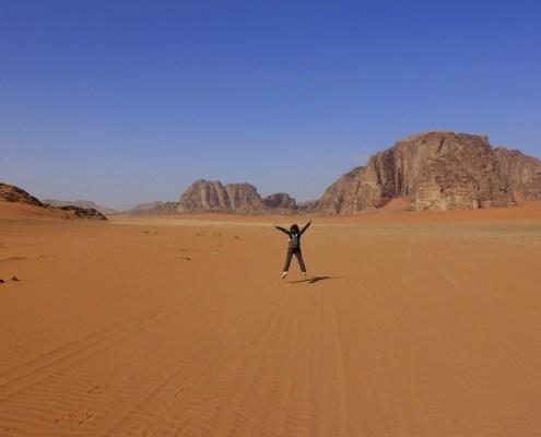 Trekking in Giordania e nel suo deserto
