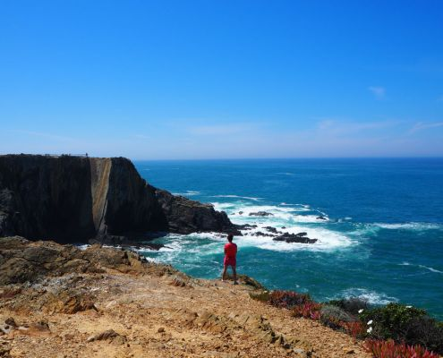 panorama da Cabo Sardao
