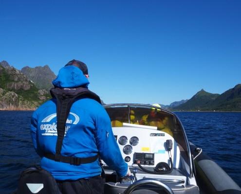 escursione a Svolvaer per visitare il fiordo