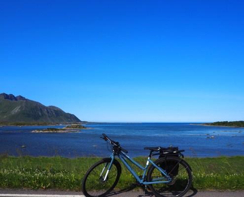 panorama bici a Gimsoya