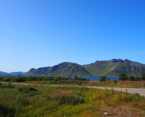 splendidi paesaggi alle isole Lofoten