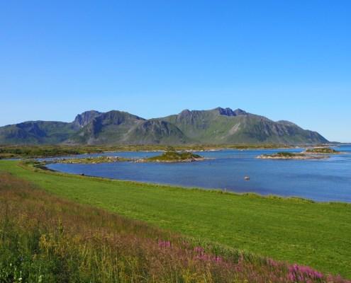 paesaggi da cartolina alle Isole Lofoten