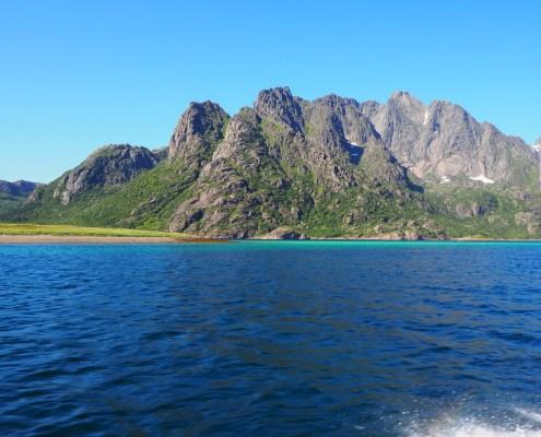 magnifica vista durante l'escursione a Trollfjord