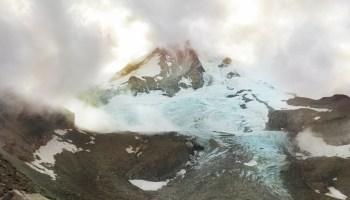 Eliot Glacier on Oregon's Mount Hood.