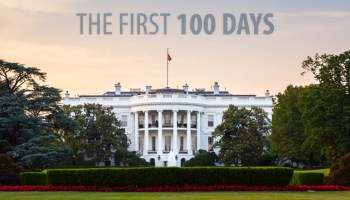 The first 100 days, White House.