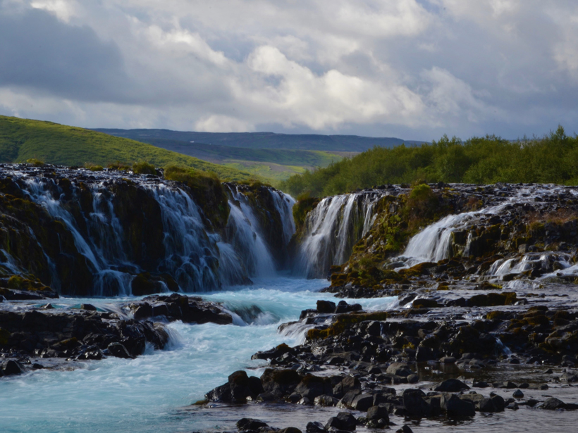 McFLI calculations can assist with water management decisions at tourist attractions like Bruarfoss near Reykholt, Iceland.
