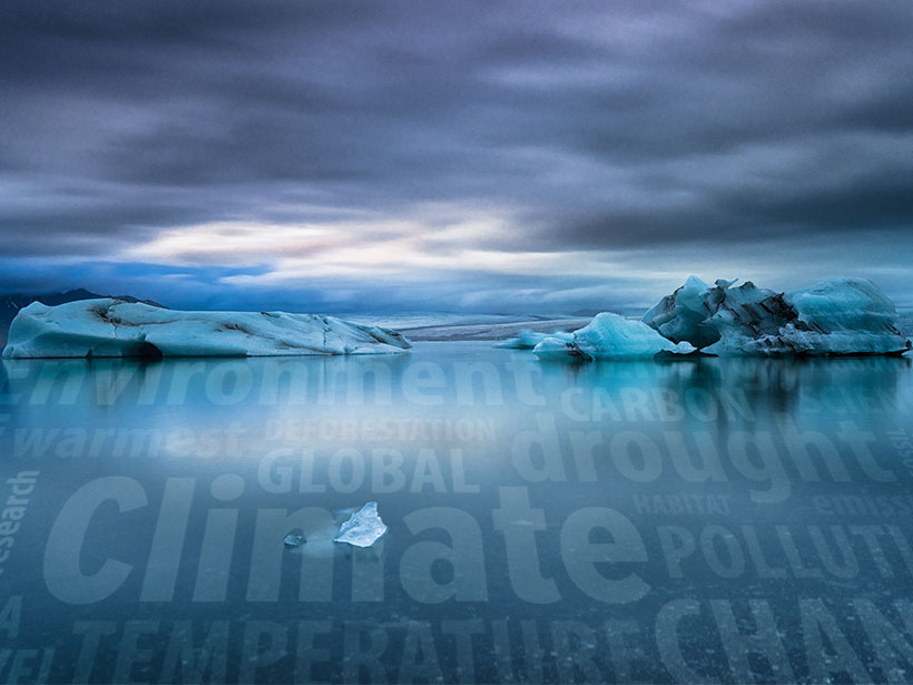 Sea ice dwindles amid climate change and a rise in misleading climate science coverage by skeptical, conservative news sites.