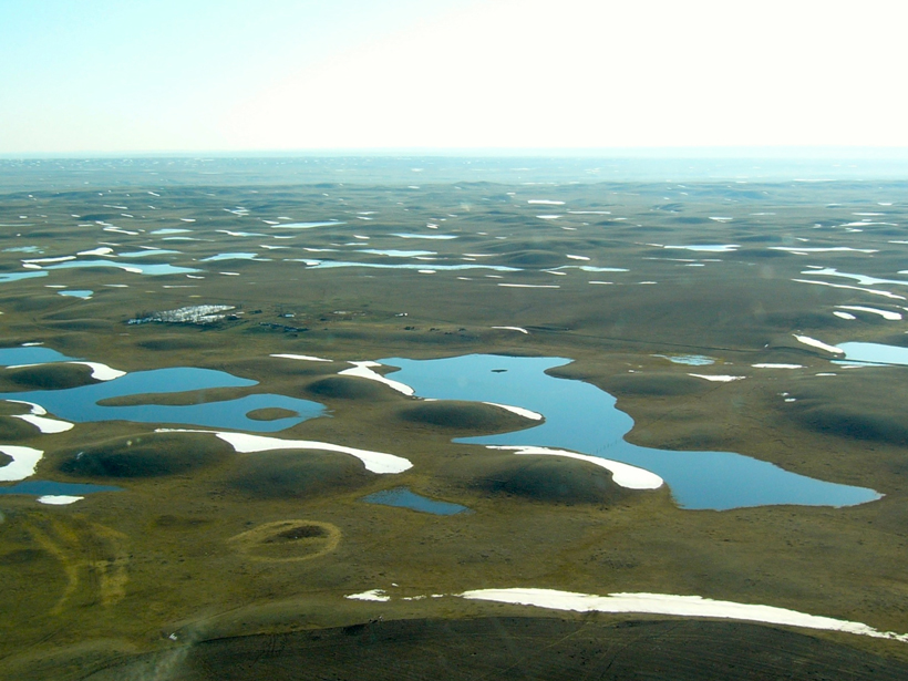 Researchers study the Prairie-Pothole Region of North America to assess water resource management across the continent.