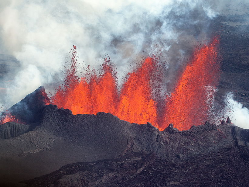 Researchers model magma flow under Iceland's Bárðarbunga volcano to spot previously undetected eruptions