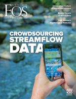 August 2018 Eos magazine cover
