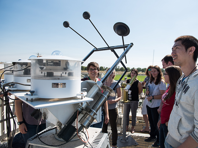 Atmospheric research instrumentation class