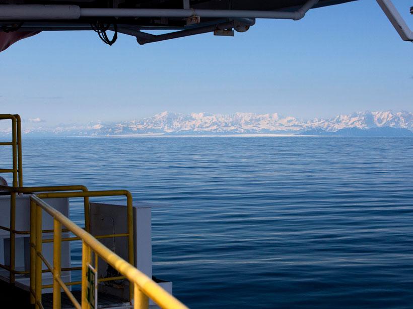 View from ship southeastern Alaska