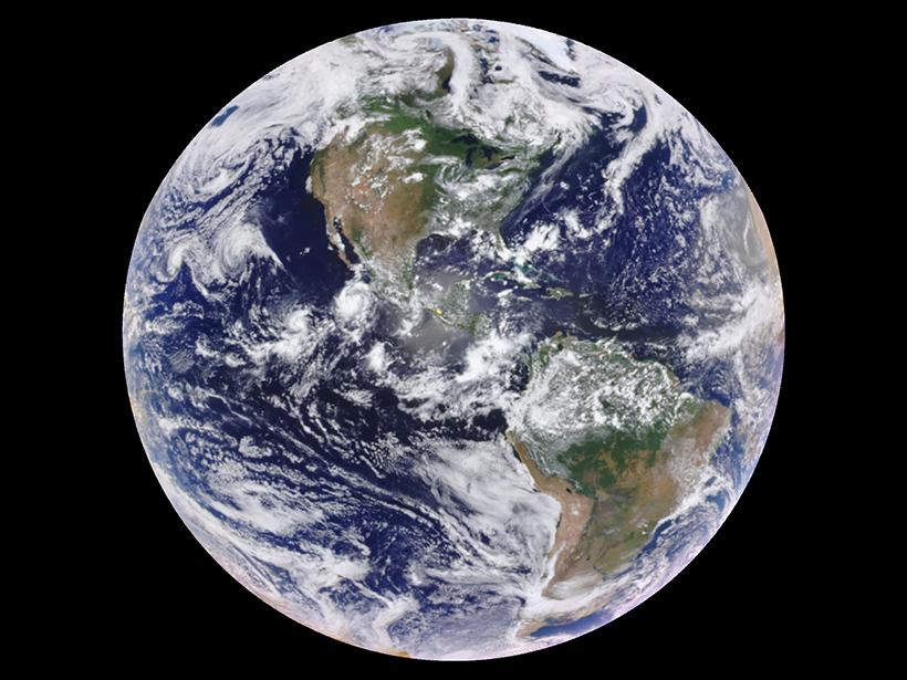 DSCOVR Earth from space