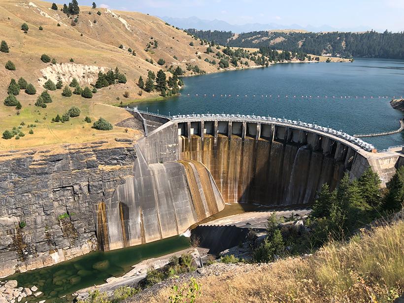 A view of Séliš Ksanka QÍispé Dam