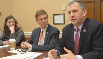 Rep. Elaine Luria (D-Va.), Rep. Don Beyer (D-Va.), and Rep. Sean Casten (D-Ill.) are three of four cochairs of the New Democrat Coalition's Climate Change Task Force.