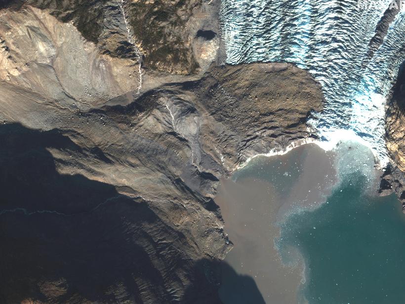 The 17 October 2015 landslide at Tyndall Glacier Alaska