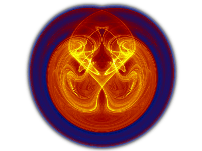 Abstract image of a convection process