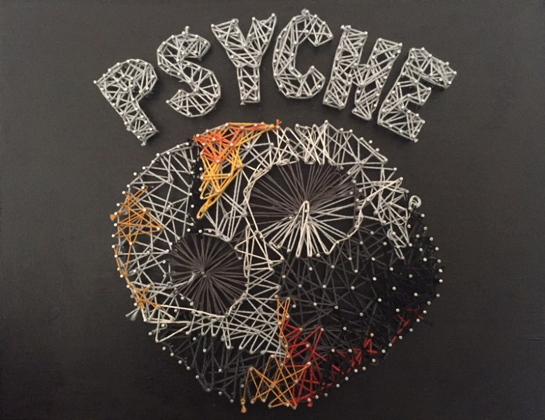 Asteroid 16 Psyche in string