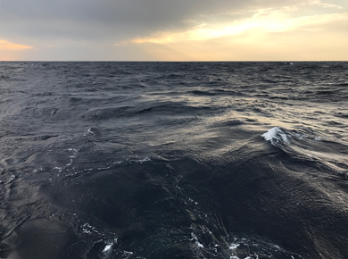 Conducting oceanographic research in the northwestern Pacific