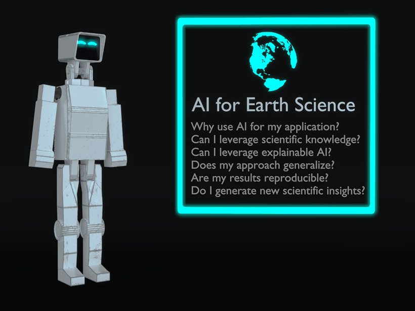 Before choosing an appropriate artificial intelligence approach for an Earth science application, key questions must be considered