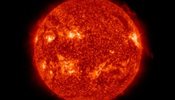Image of the Sun in extreme ultraviolet light taken by NASA's Solar Dynamics Observatory