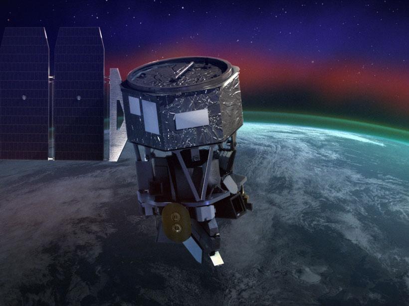 NASA'S ICON satellite