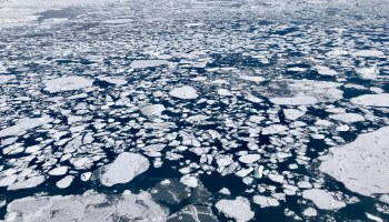 Sea ice in the Beaufort Sea in 2018