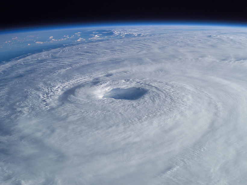 Satellite image of Hurricane Isabel