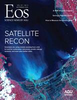 Cover of September 2020 Eos