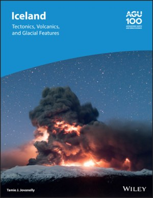 """Front cover of book """"Iceland: Tectonics, Volcanics, and Glacial Features"""""""