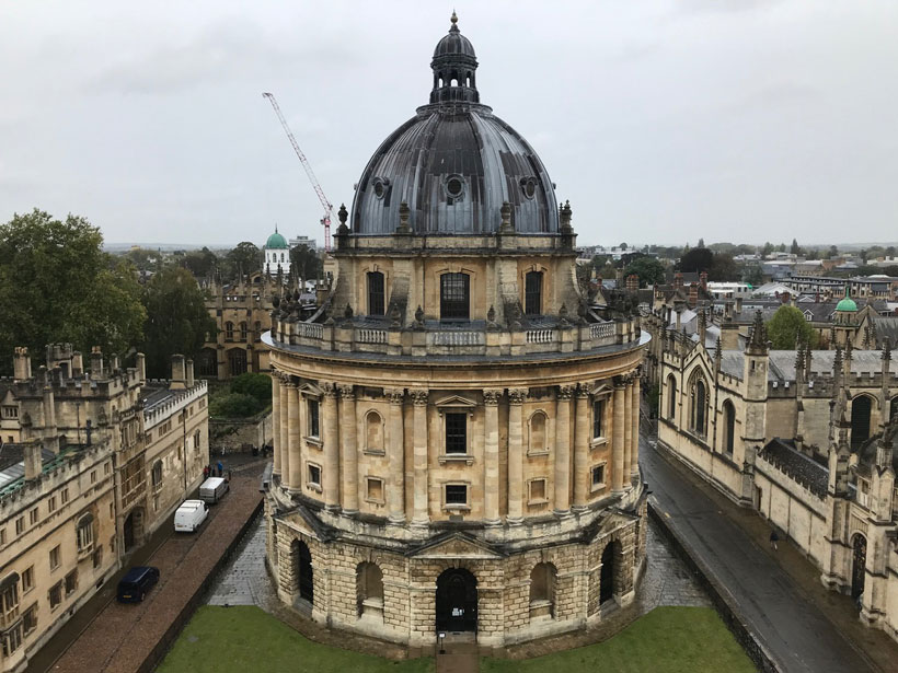 The Radcliffe Camera at the University of Oxford, UK.