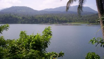 Lake Yambo, a topical lake in the Philippines